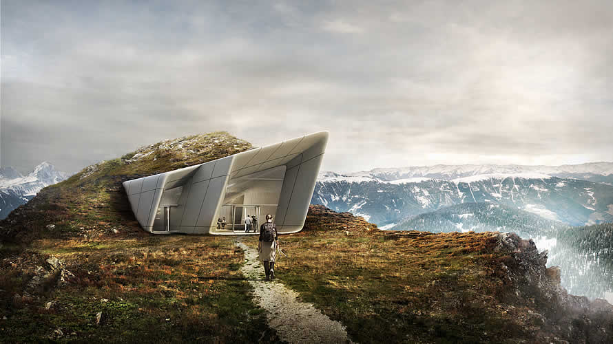 Messner Mountain Meseum Corones Fels