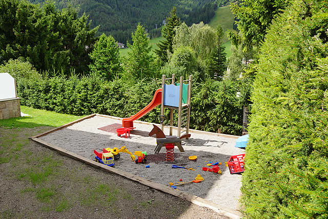 Play ground in the garden