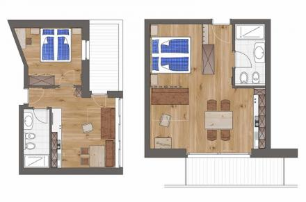 Plan Apartment Comfort